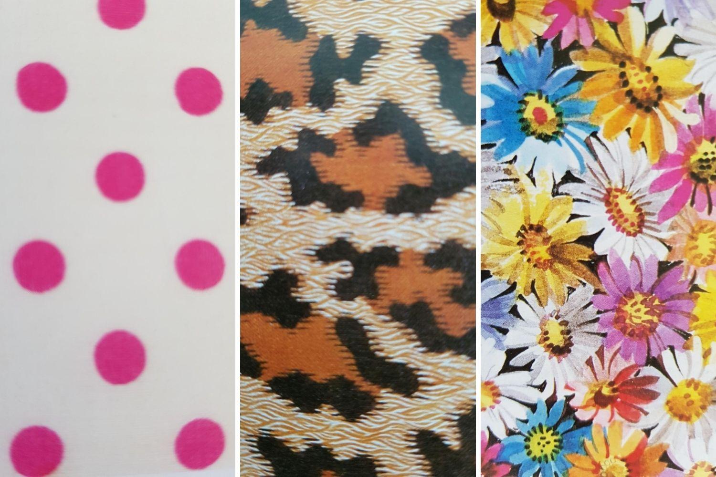 Verschiedene Muster im Vergleich